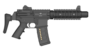 M4A1-SD by GrimReaper64