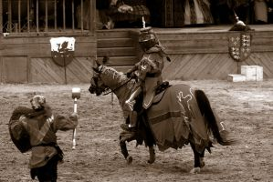 The Joust - 1 of 4 by lucifie