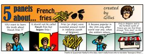 5P about french fries by Gillus99