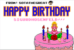Happy Birthday SigurdHosenFeld by SotaTheGreat
