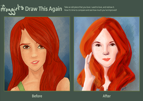 Draw this Again: Ginny by ifroggirl