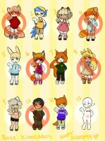 Big Load Adopts -OPEN- (7,9, and 11 LEFT) by DeerestHammy