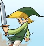 A lil' Link Doodle. by carlospita
