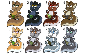 Baby Kleefkit Adoptables [CLOSED] by FaithLeafCat