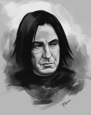 RIP Alan Rickman by PemaMendez