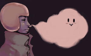 nose ghost by bloodcurdlingcreams