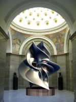Sculpture at The Missouri State Capitol. by bjman