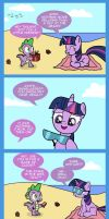 Spike's Card Tricks by Cartoon-Admirer
