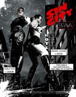 SIN CITY INVITE FRONT by dovianaxpix