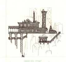 Steampunk Home by dracorotor