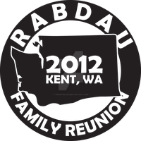 Family Reunion Logo by Trustinlies