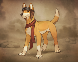 Daring Dingo by Skeleion