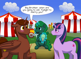 Commission: Kids Say the Darndest Things... by Shrineheart