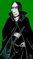 First Snape by ghost-eye