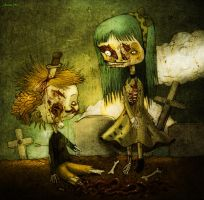 zombie love by berkozturk