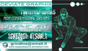 DEVIATE GRAPHIX Personal Card by LaePhYDoPterA