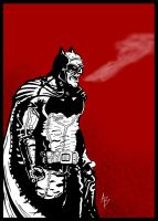 Batman Miller Style by andreabocci