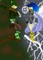 Sages of Forest and Lightning by CrystalizedNight