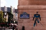 Street Art Batman in Paris by SuBWaReZ