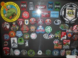 MY Full Patch Collection. by masterbarkeep