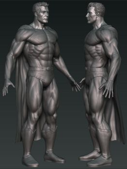 Superman WIP by mx