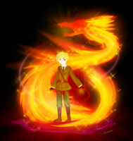 APH: Summoning 'em Bloody Dragons by hana-sakurano