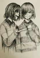 [Undertale] You are a great partner by XxkaibutsukoxX