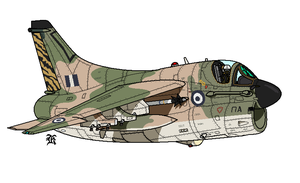 Hellenic_Air_Force_A7E by darthpandanl