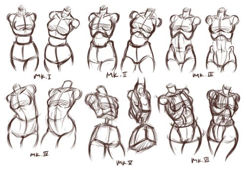 Figure Drawing Documentation (or Evolution?) by Aquamarine-39
