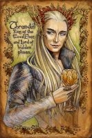 Hobbit Illumination,Thranduil by BohemianWeasel