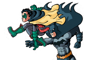 Batman And Robin by filipeG
