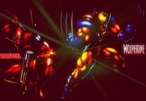 Deadpool And Wolverine Wallpaper by BrandiSwick227