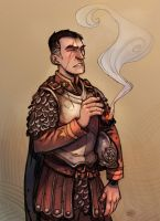 Sam Vimes by zazB