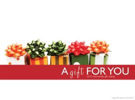 Certif-A-Gift Catalog by alterna7