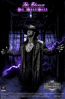 The Undertaker Hall Of Fame home video poster by jokerxAx316