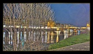 Firenze by night HDR by il-Saggio