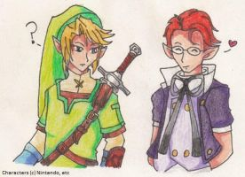 Link x Shad for Claire by SamCyberCat