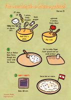 Quick food: Cheese galette by Majnouna