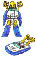 Dolphinbot Seaspray by Jochimus