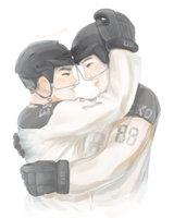 kaisoo | hockey by Julia-Yes