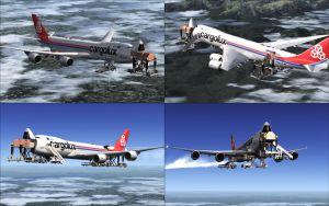 FSX - Mid-air Cargo Loading by Shroomworks