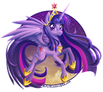 Princess Twilight by MetalPandora
