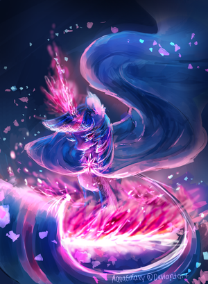 MLP: Guardian of dreams by AquaGalaxy on DeviantArt