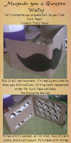 Wallet - Mustache by AquaQueen27