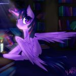 Even Princesses Need to Study by SpiderShii