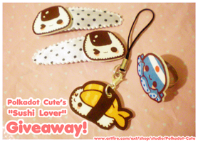 Sushi Lover Giveaway by Pijenn