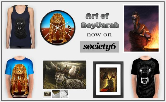 My Society6 Store by DeyVarah