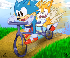 .:CE:. GOTTA GO FAST by Chicaaaaa