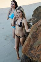 Rommley and Louise - bikinis below 1 by wildplaces