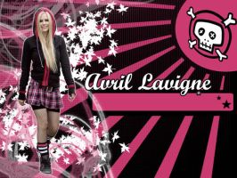 Avril Lavigne Wallpaper by Roxy005